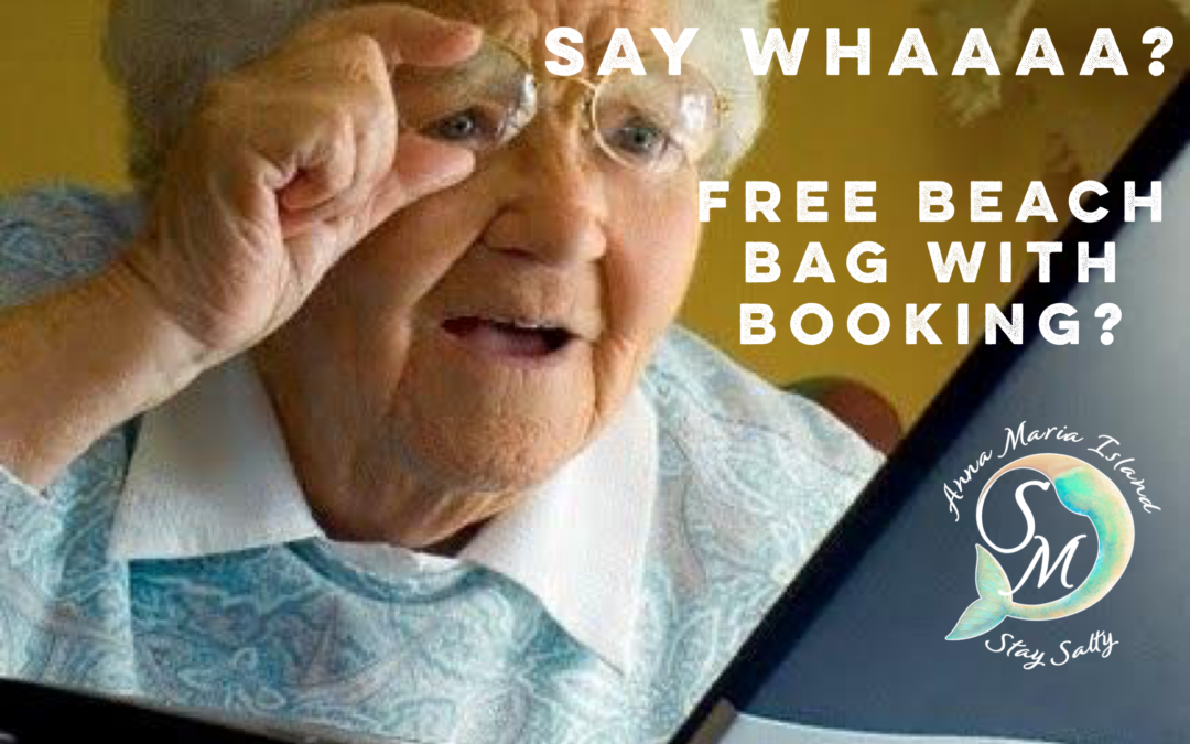 Book your stay with Salty and receive a free beach tote when you arrive!